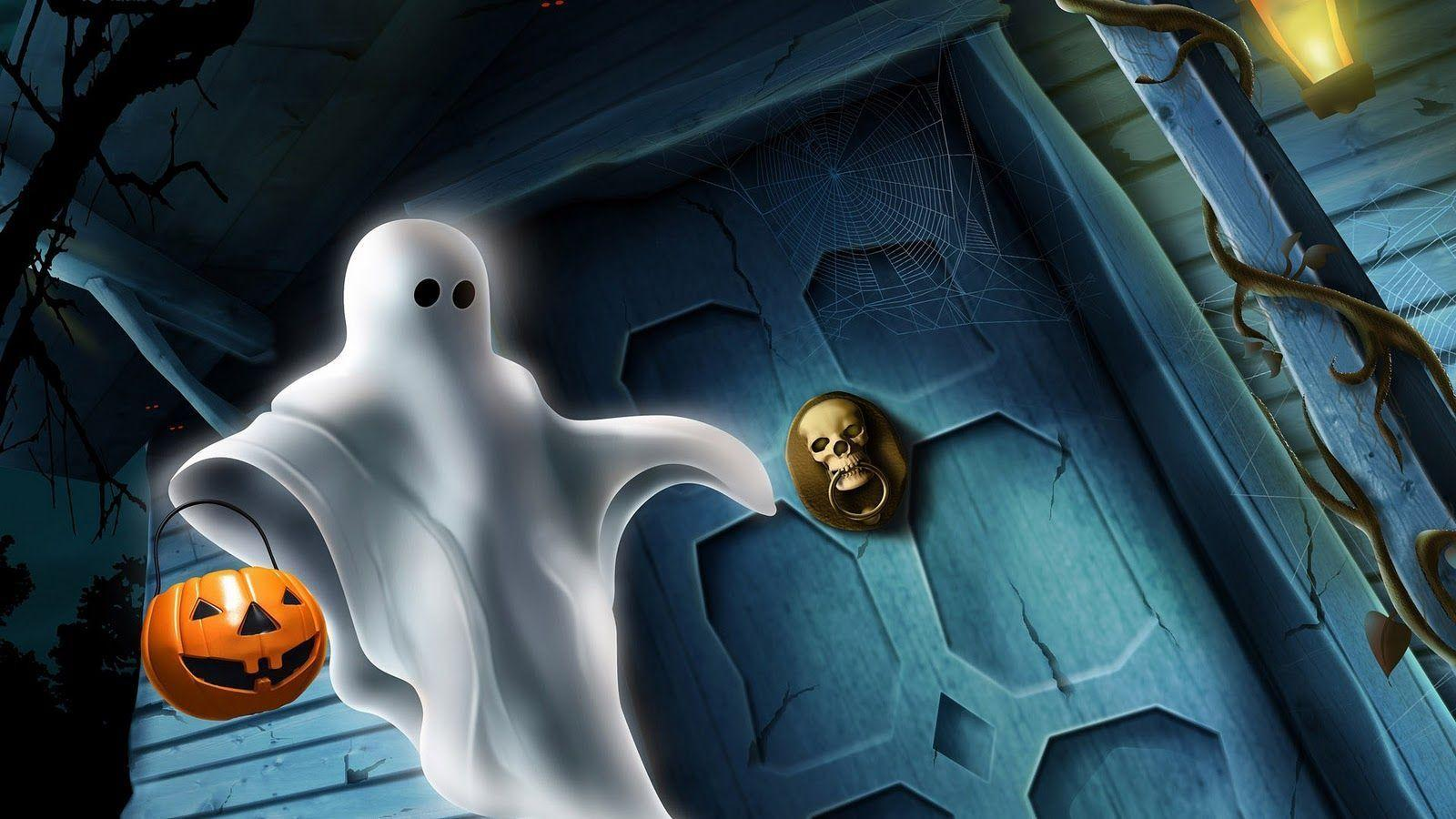 ghost Halloween Wallpaper