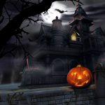 House-and-pumpkin-halloween-wallpapers-HD-1920×1200